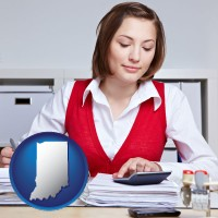 indiana a bookkeeper