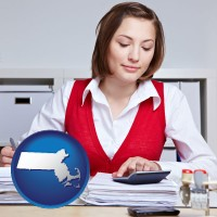 massachusetts a bookkeeper