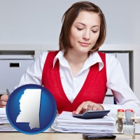mississippi a bookkeeper