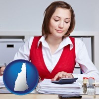 new-hampshire a bookkeeper