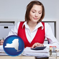 new-york a bookkeeper