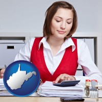 west-virginia a bookkeeper