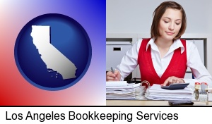 Los Angeles, California - a bookkeeper